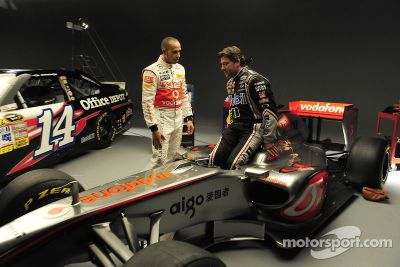 Lewis Hamilton - Tony Stewart announcement