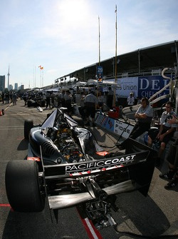 Pacific Coast Motorsports pit area