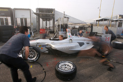 Pacific Coast Motorsports team members at work