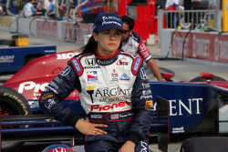 Pole winner Danica Patrick