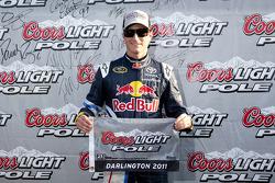 Pole winner Kasey Kahne, Red Bull Racing Team Toyota