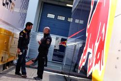 Mark Webber, Red Bull Racing, Adrian Newey, Red Bull Racing, Technical Operations Director