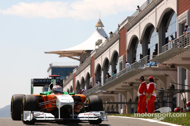 Адриан Сутиль, Force India F1 Team, VJM-04