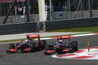 Lewis Hamilton, McLaren Mercedes ve Jenson Button, McLaren Mercedes
