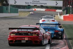 #61 AF Corse Ferrari F430: Piergiuseppe Perazzini, Marco Cioci, Stephane Lemeret
