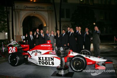 Indy Racing League Championship Celebration, Hollywood