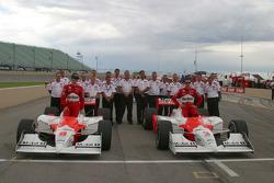Team Penske sweeps the front row at Pike's Peak International Raceway