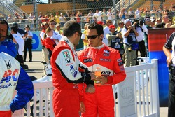 Dario Franchitti et Helio Castroneves