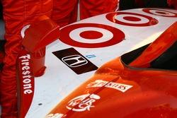 Un tributo a Paul Dana en el coche ganador
