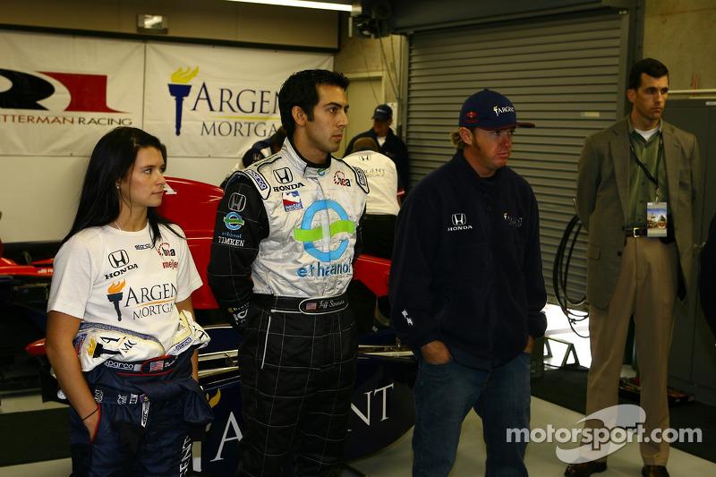 Danica Patrick, Jeff Simmons et Buddy Rice