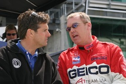 Robbie Buhl and Al Unser Jr.