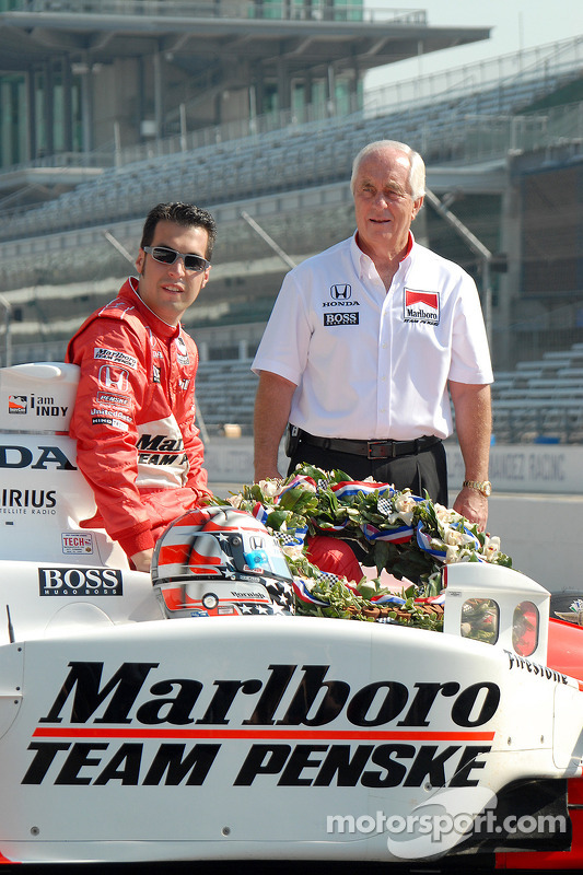 Sam Hornish Jr. avec Roger Penske