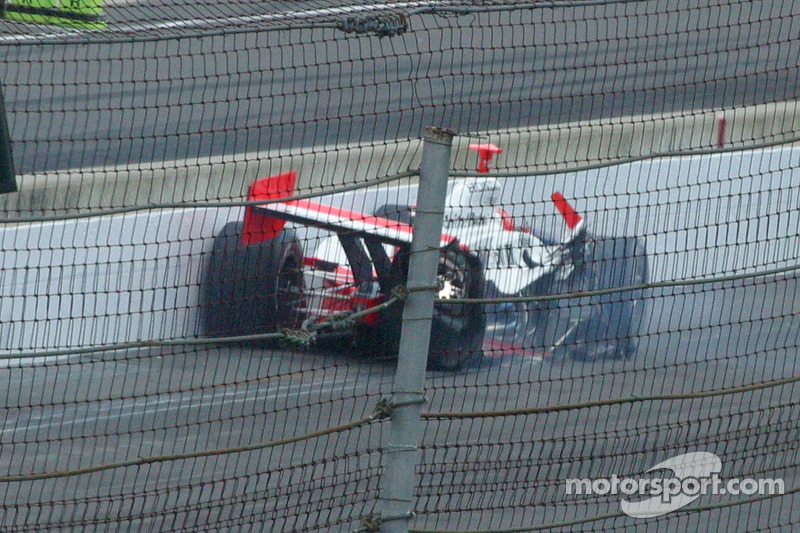 2006: единственная авария в Indy 500