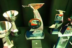 Winners' trophies