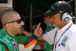 Tony Kanaan and Kim Green