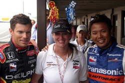 Scott Sharp and Kosuke Matsuura