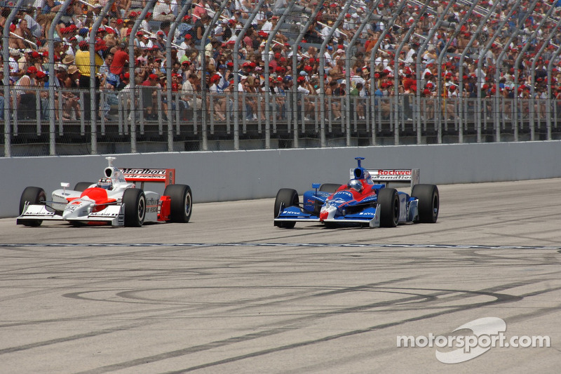 Sam Hornish Jr. et Marco Andretti