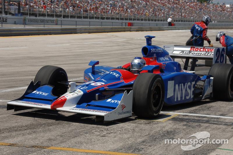 Arrêt au stand pour Marco Andretti