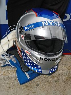 Helmet of Marco Andretti