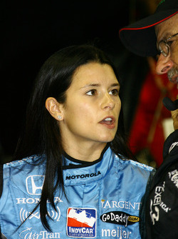 Danica Patrick after her retirement