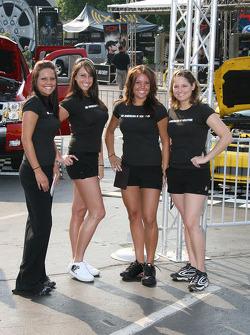 Lovely hostesses