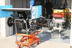 Playa Del Racing garage area