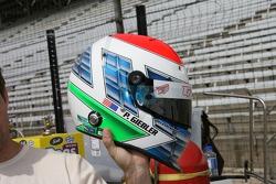 Helmet of Phil Giebler