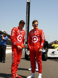 Scott Dixon and Dan Wheldon