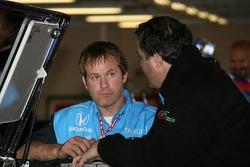 Andretti Green Racing crew members at work