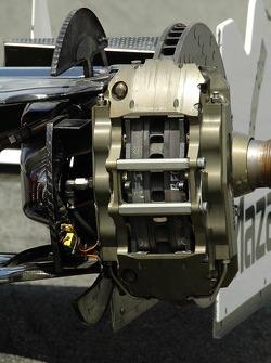 Right-front brake caliper