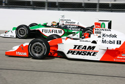 Dan Wheldon and Helio Castroneves