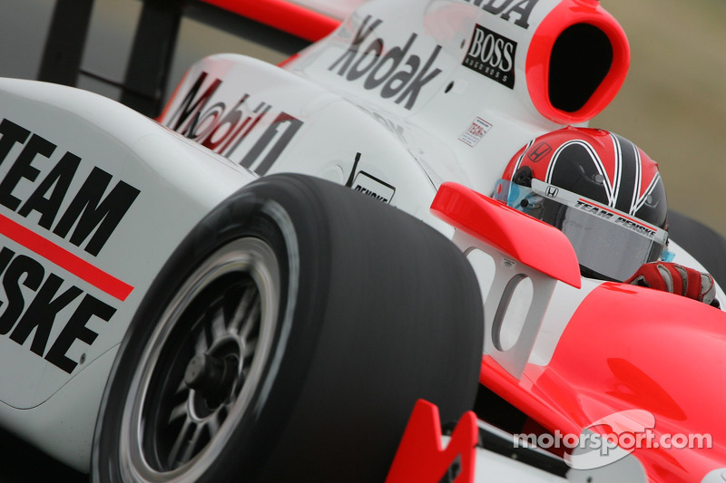 2007: второй поул на Indy 500
