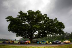 #97 Turner Motorsport BMW M3 Coupe: Joey Hand, Michael Marsal, #9 Stevenson Motorsports Camaro GS.R: Matt Bell, John Edwards, #13 Rum Bum Racing BMW M3 Coupe: Nick Longhi, Matt Plumb