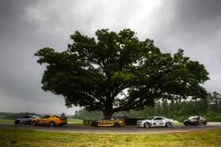 #15 Multimatic Motorsports Mustang Boss 302R: Joe Foster, Scott Maxwell, #33 Kinetic Motorsports BMW M3 Coupe: Jade Buford, Bryan Sellers, #6 Mitchum Motorsports Camaro GS.R: Jeff Bucknum, Robert Stout