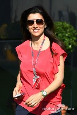 Fabiana Flosi, girlfriend of Bernie Ecclestone