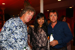 Top Gear's James May en Peter Hammond