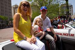 Indy 500 festival parade: Alex Lloyd, Dale Coyne Racing