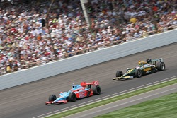 John Andretti, Richard Petty/Andretti Autosport and Takuma Sato, KV Racing Technology-Lotus