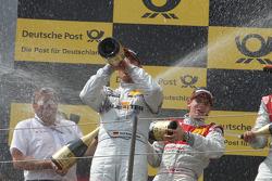 Ernst Moser, Team principal of Audi Sport Team Phoenix, Ralf Schumacher, Team HWA AMG Mercedes C-Klasse, Oliver Jarvis, Audi Sport Team Abt Audi A4 DTM