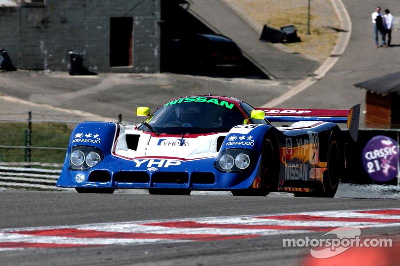 #28 Nissan R90C: Kent Abrahamson