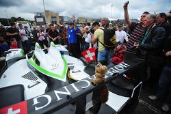 #5 Hope Racing Oreca Swiss Hy Tech-Hybrid: Steve Zacchia, Jan Lammers, Casper Elgaard