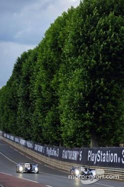 #7 Peugeot Sport Total Peugeot 908: Alexander Wurz, Marc Gene, Anthony Davidson, #8 Peugeot Sport Total Peugeot 908: Franck Montagny, Stéphane Sarrazin, Nicolas Minassian