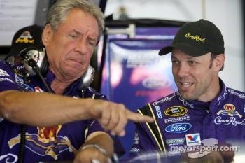 Matt Kenseth, Roush Fenway Racing Ford and crew chief Jimmy Fennig