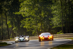 #5 Hope Racing Oreca Swiss Hy Tech-Hybrid: Steve Zacchia, Jan Lammers, Casper Elgaard, #59 Luxury Racing Ferrari 458 Italia: Stéphane Ortelli, Frédéric Makowiecki, Jaime Melo