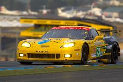 #73 Corvette Racing Chevrolet Corvette C6 ZR1: Оливье Беретта, Том Милнер, Антонио Гарсиа