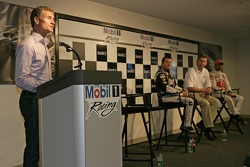 David Coulthard during the press conference