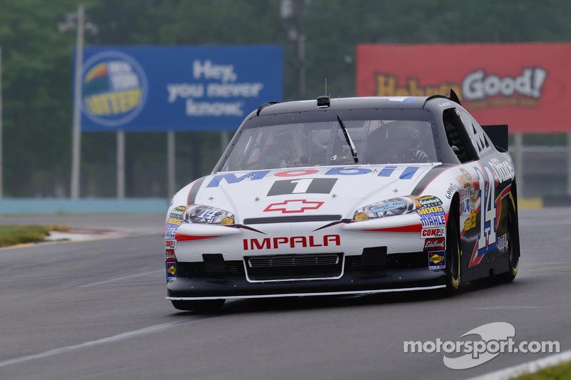 Tony Stewart in his Chevy Impala Sprint Cup car