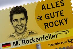 Pit board for Mike Rockenfeller