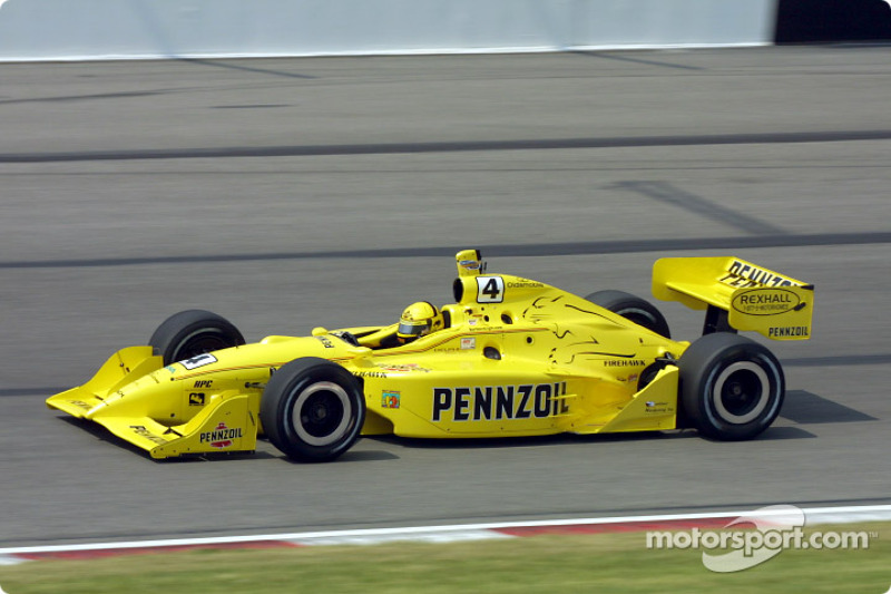 2001 IRL: Sam Hornish Jr., Panther Racing, Dallara-Aurora