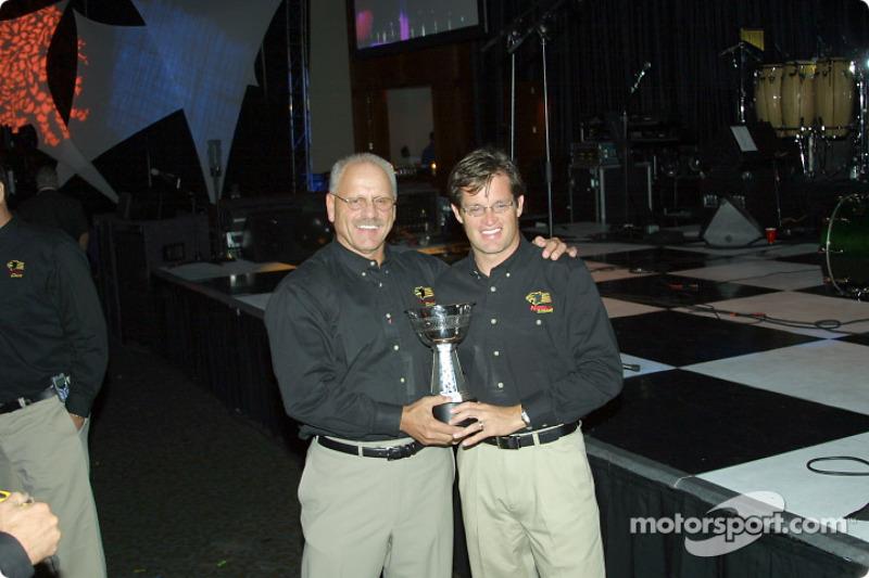 Panther Racing's Gary Pedigo and Doug Boles
